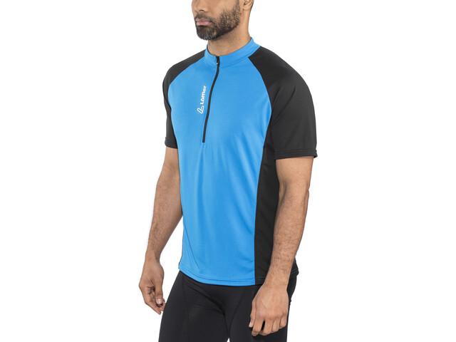 Löffler Rocky Bike Shirt Half-Zip Herren brillant